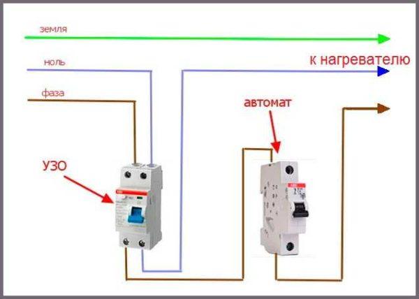 Подключение проточного водонагревателя к электричеству