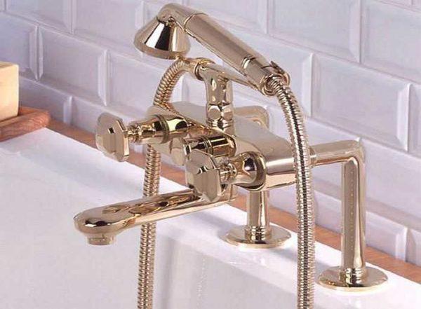 Двухвентильный смеситель для ванной - классика сантехники