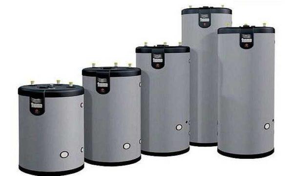 По типу установки они есть настенные и напольные, емкость - от 50 литров до 1500 литров