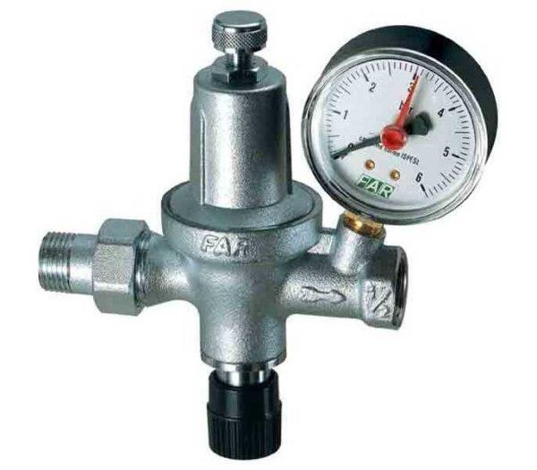 Редуктор давления воды - устройство для понижения и стабилизации давления в системе