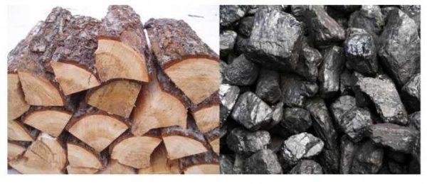 Твердотопливные котлы работают в основном на дровах и на угле