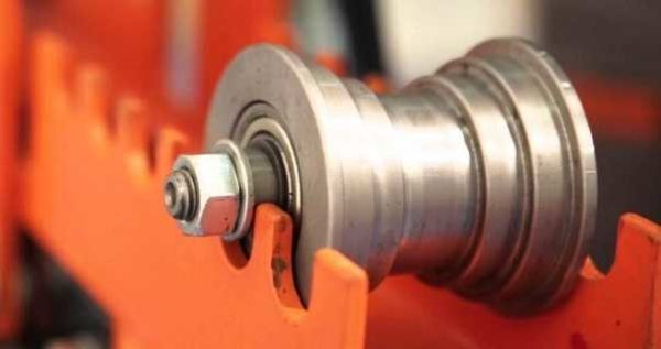 Ролики для гибки профильной трубы разной ширины