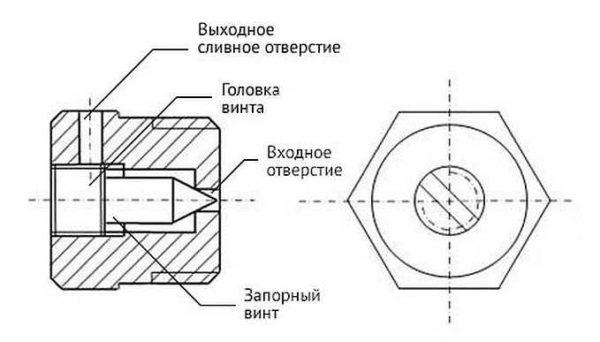 Устройство для отвода воздуха из радиаторов