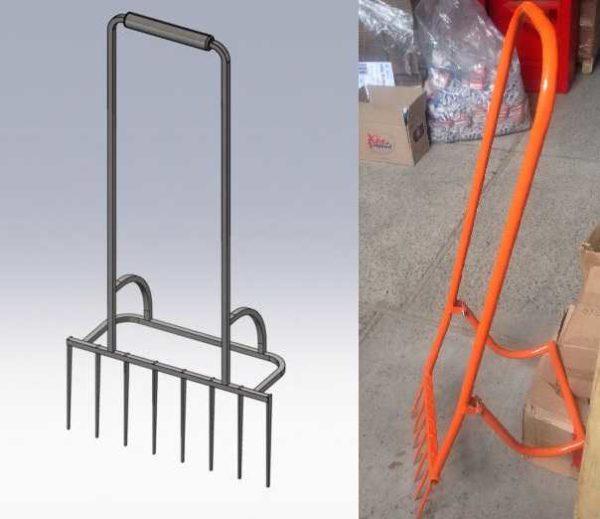 """Два варианта под названием """"Легкокоп"""". Наиболее простой рыхлитель для огорода, сада и дачи"""