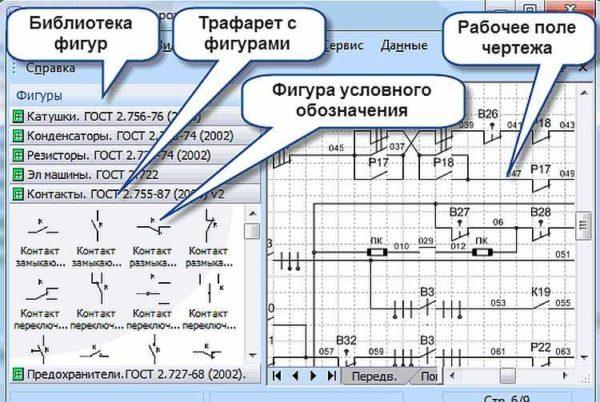 Составлять электрические схемы в Visio несложно