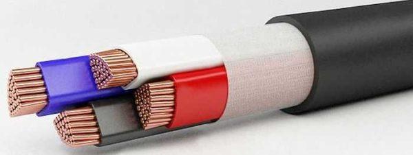 Негорючие кабели ВВГнг могут идти с дополнительной оболочкой