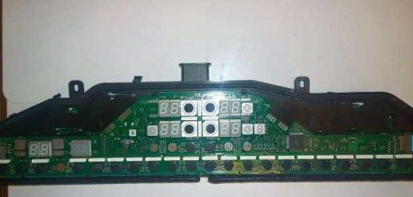 Один из вариантов панели управления варочной поверхности