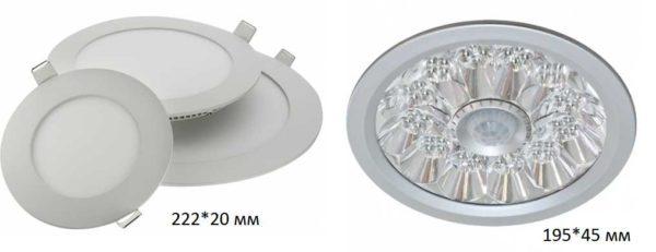 Так выглядят встраиваемые светильники со светодиодами
