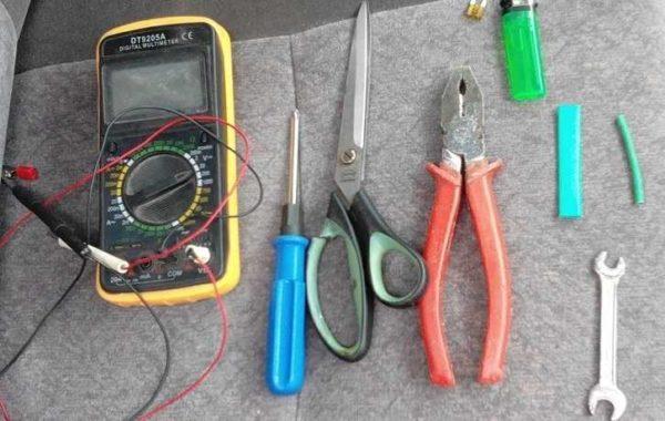 Инструменты, которые могут понадобиться при ремонте утюга