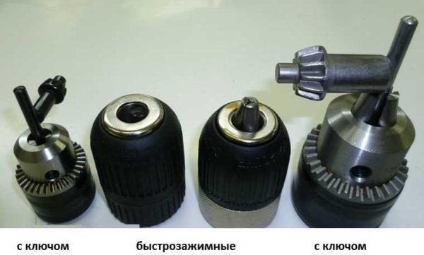 Типы патронов для шуруповерта