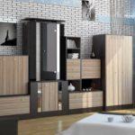 Одна из характерных черт современной мебели - неровный верхний край