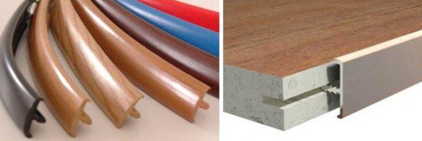 Т-образный мебельный профиль для обработки кромок мебели