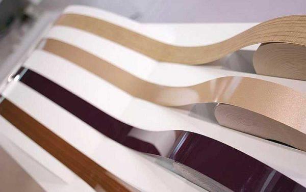 Несколько вариантов кромочной ленты из АБС пластика
