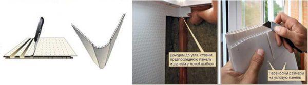 Отделка стен пластиковыми панелями: как обойтись без угловых профилей