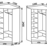 Небольшие угловые шкафы купе подойдут даже для малогабаритных квартир