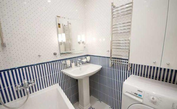 Идеальный подбор плитки и сантехники. Это ванная комната площадью ,7 квадрата