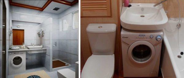 Использование специальной сантехники позволяет сэкономить место