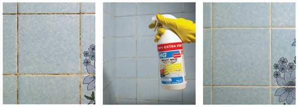Готовое средство против плесени - быстрый способ очистить плитку в ванной от грибка