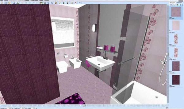 Программа для раскладки плитки в 3D Кафель 6,0