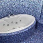 Овальная ванна для нестандартных интерьеров