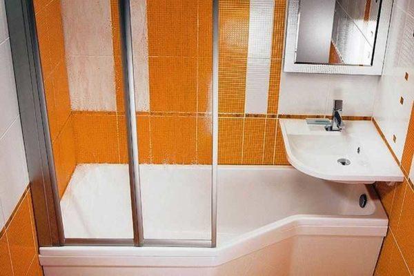 Дизайн ванной комнаты в хрущевке - дело сложное