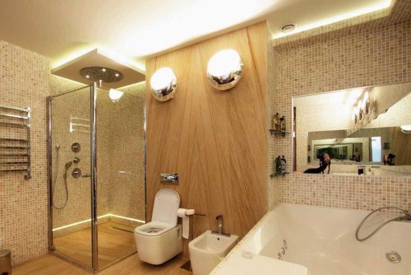 Имитация плитки для стен на листовых отделочных материалах - способ быстро и недорого сделать ремонт в ванной