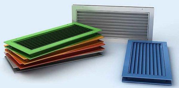 Переточные решетки для вентиляции