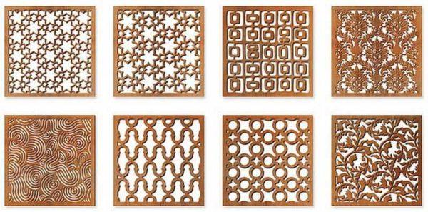 Декоративные вентиляционные решетки из латуни, бронзы, меди привлекают внимание и служат украшением