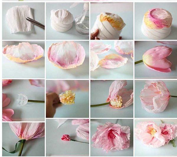 cveti-iz-gofrirovannoj-bumagi-11-600x533 Мастер-класс «Букет цветов из бумаги». Воспитателям детских садов, школьным учителям и педагогам