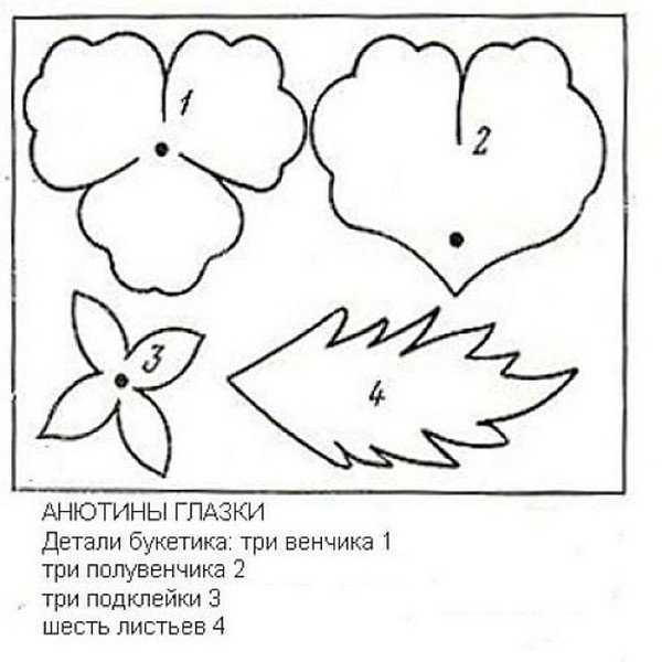 cveti-iz-gofrirovannoj-bumagi-16 Гофрированная бумага, применение, виды, изготовление