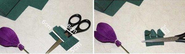 cveti-iz-gofrirovannoj-bumagi-20-600x177 Мастер-класс «Букет цветов из бумаги». Воспитателям детских садов, школьным учителям и педагогам