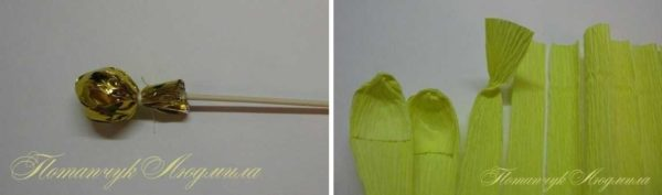 cveti-iz-gofrirovannoj-bumagi-24-600x177 Мастер-класс «Букет цветов из бумаги». Воспитателям детских садов, школьным учителям и педагогам