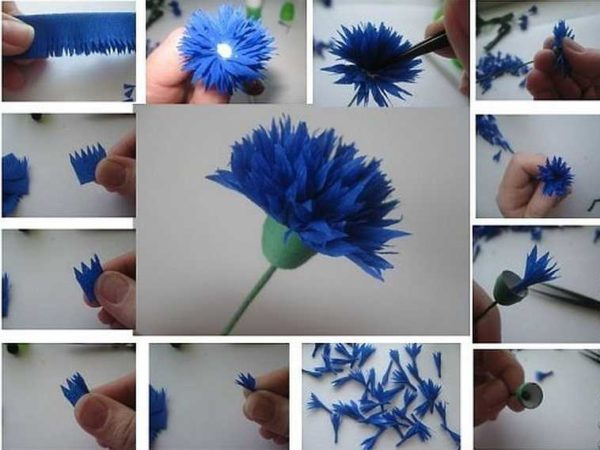 cveti-iz-gofrirovannoj-bumagi-41-1-600x450 Мастер-класс «Букет цветов из бумаги». Воспитателям детских садов, школьным учителям и педагогам