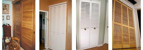Жалюзийные двери в технические помещения - отличный вариант добиться проветривания без организации специального воздуховода