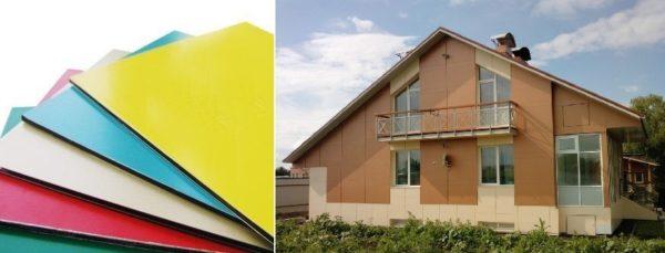 Облицовочные панели для фасада дома: под кирпич, камень, брус