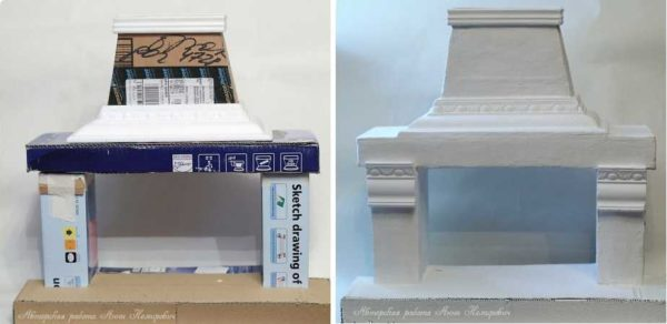 Более сложная форма и использованные полиуретановые молдинги творят чудеса