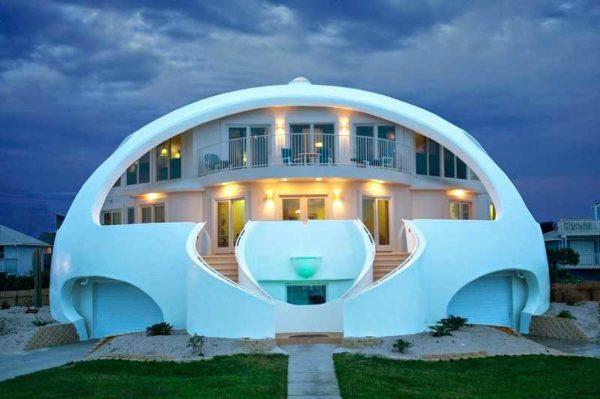 Это тоже купольный дом