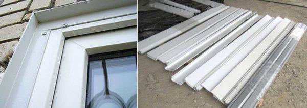 Металлические наличники, в основном, ставят на кирпичные дома