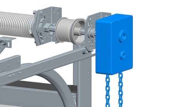 Блок ручного подъема ворот облегчит работу при отсутствии электричества