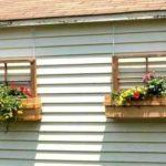 Поделки для дачи и сада - такие висящие ящики украсят и стену домика, и сарая