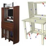 Компьютерный стол-трансформер для школьника или студента