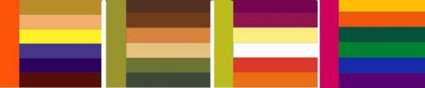 Цветовые сочетания в интерьере