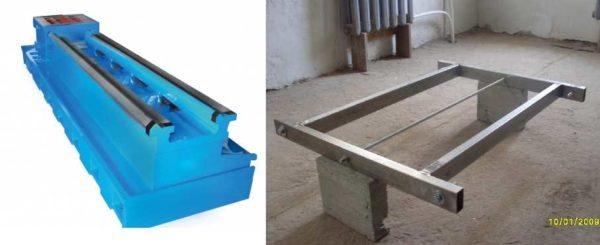 Станина для токарного станка по металлу - заводская и самодельная