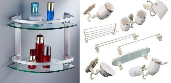 Аксессуары для ванной из стекла - может кому-то и понравятся