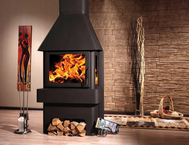 Печь на твердом топливе при наличии герметичной дверки можно перевести в режим тления