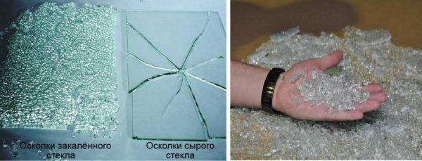 Разница между обычным и каленым стеклом
