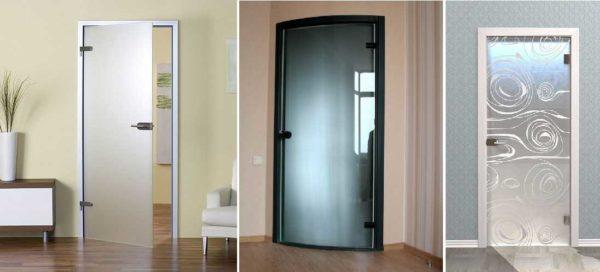 Дверное полотно без рамки