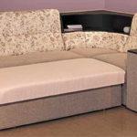 Полка, бар встроенные в мягкую мебель - удобно и функционально