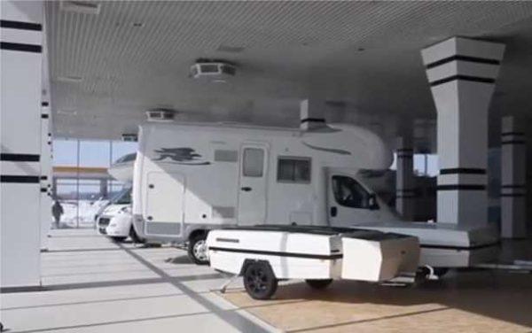 Разница между автодомом и прицепом-палаткой