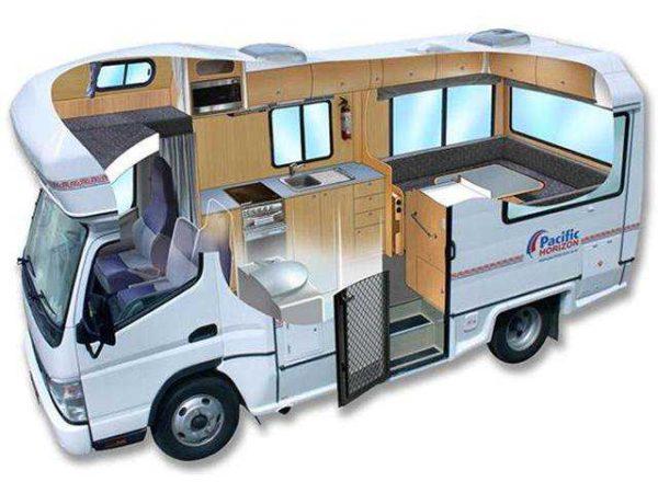"""Фургон для путешествий может иметь разную """"начинку"""" и комплектацию"""